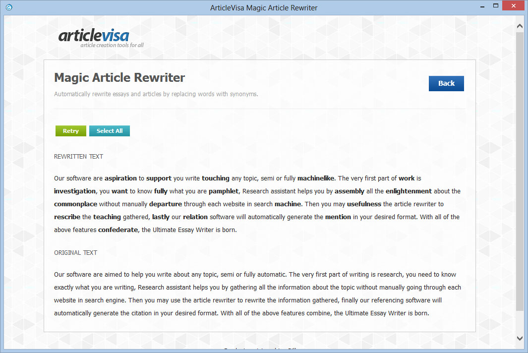 rewrite essay software The app identified this is a dead phrase and suggested that i rewrite the  sentence original: there are ways to keep the beast at bay: [list].