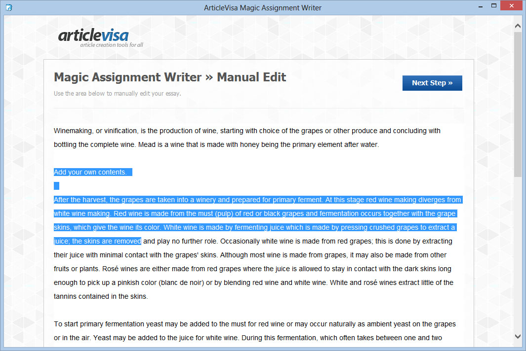 Magic Assignment Writer